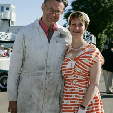 Andrew & Lynne at Goodwood