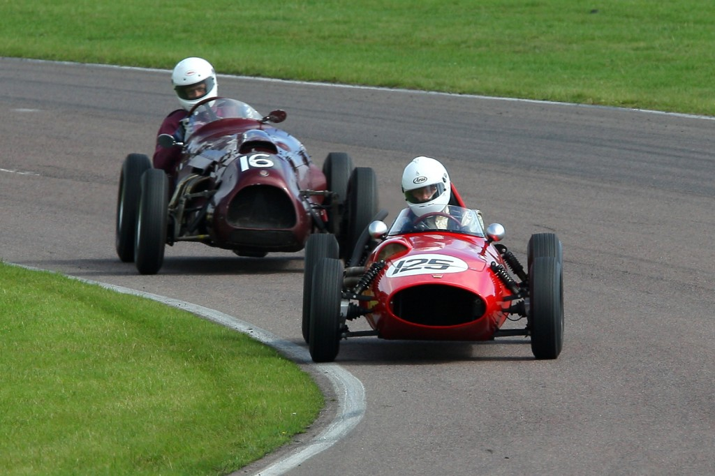 Our first win. Mallory Park 2010